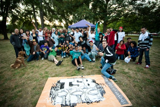 Photo by Cahn Solo at our tSB Alumn BBQ this fall