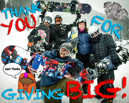 GIVEBIG 550x440 GIVE BIG for our BIG TRIP!