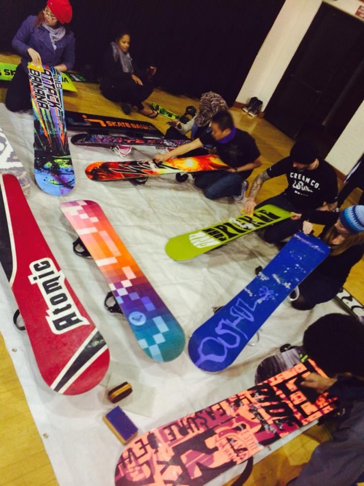 Board Waxing!