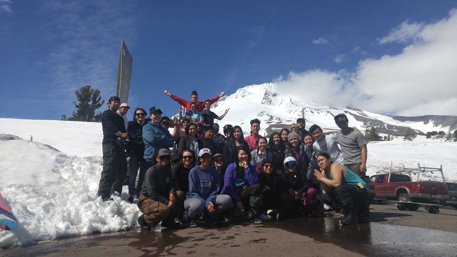 tSB group photo at Mt. Hood 2017