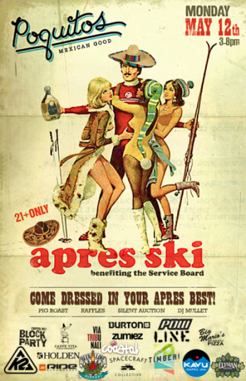 Poquiots Apres Ski for tSB   May 12, 2014